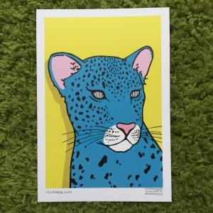 leopardo -  print - sanz i vila