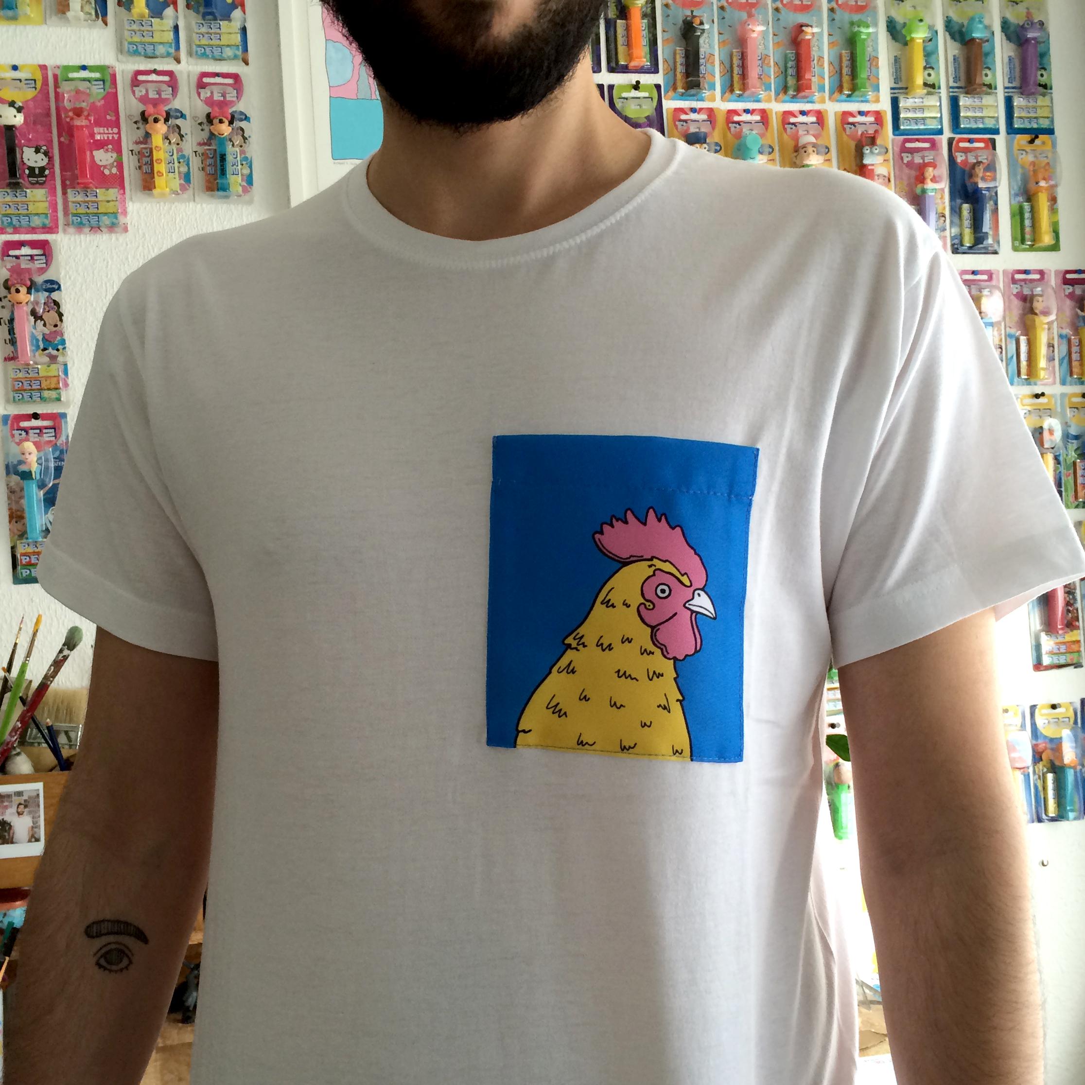 camiseta gallo sanz i vila