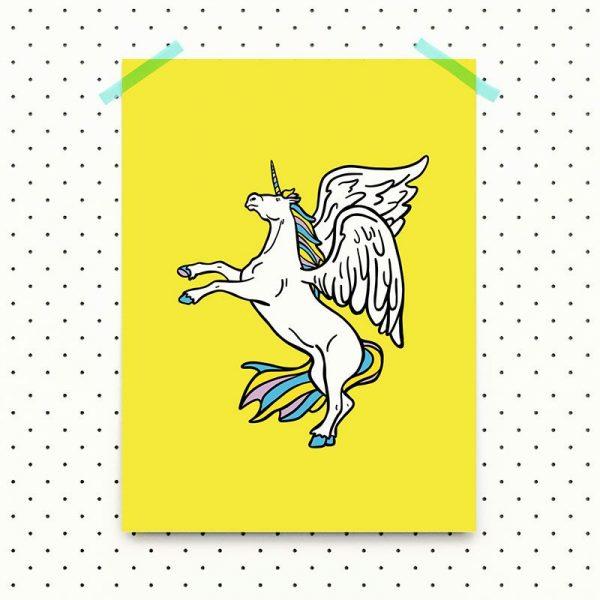 lamina-sanz-i-vila-unicornio-30x40